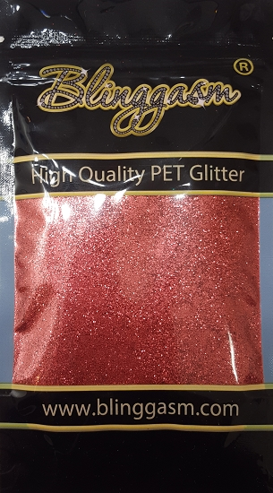 Metallic Solvent Resistant Blinggasm Polyester Glitter 3.5 oz By Weight .008 Or .015 Choose Size From Menu #55 B0909